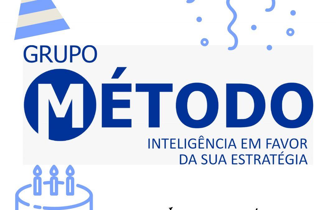 GRUPO MÉTODO, 39 ANOS DE LUTAS E CONQUISTAS, BUSCANDO SEMPRE O CONHECIMENTO