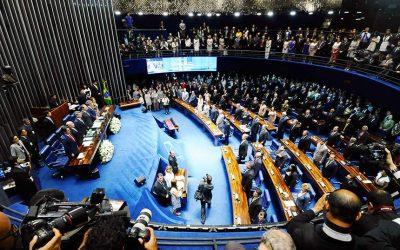 Senado aprova texto-base da Previdência em primeiro turno